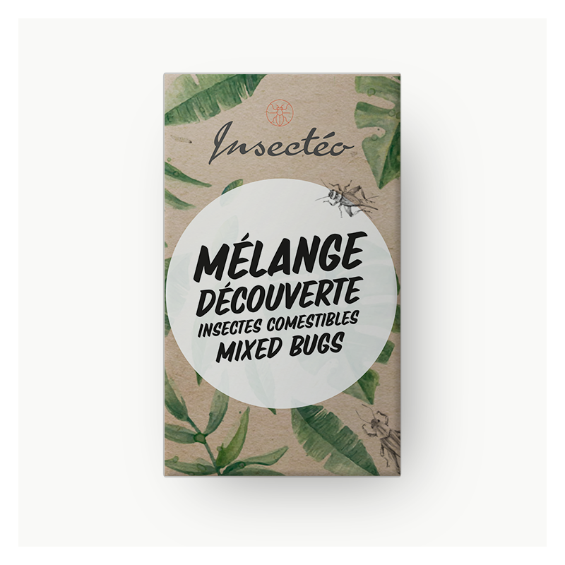 Mixed bugs insect o edible insects for aperitif - Lunch box nature et decouverte ...