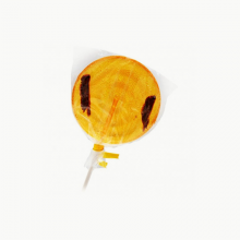 Orange & Grasshopper lollipop