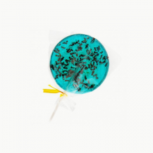 Blueberry & Ants lollipops