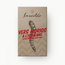 Vers géants morios à l'italienne - INSECTÉO
