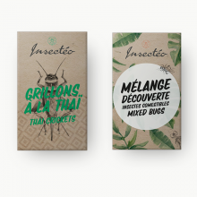Le duo apéritif d'insectes comestibles - INSECTÉO