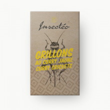 Grillons au curry - INSECTÉO