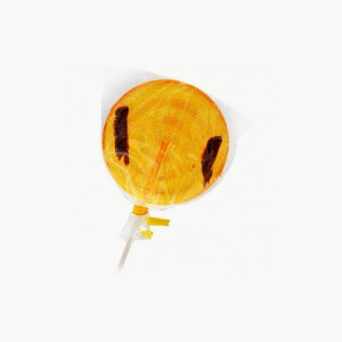 Sucette criquet à l'orange