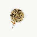 Chupete de plátano con hormigas