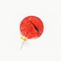 Chupeta de fresa con escorpión