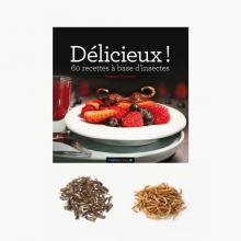 El libro de cocina con insectos
