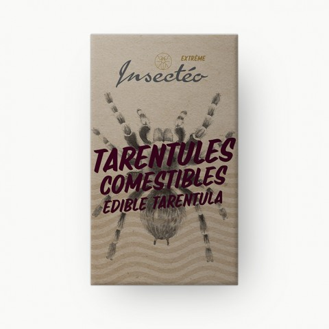 Tarentule comestible - INSECTÉO